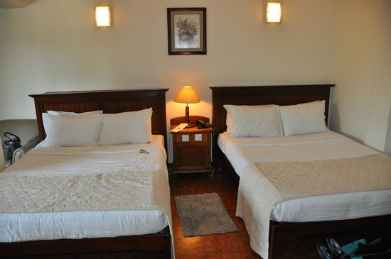 Sapphire Hotel: Big comfortable beds