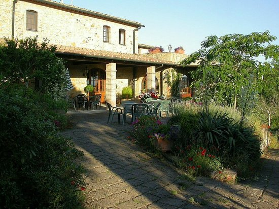 Ferienwohnungen mit Pool - Landgut «Le Valli» Toskana: Reception «Le Valli», Toskana