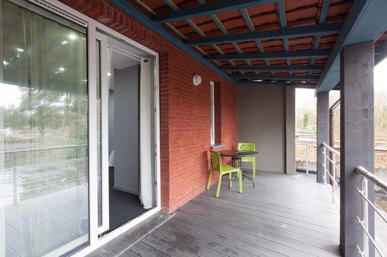 Hotel Phenix: balcon ch 12