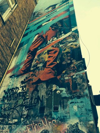 London Detours : Wall, East London