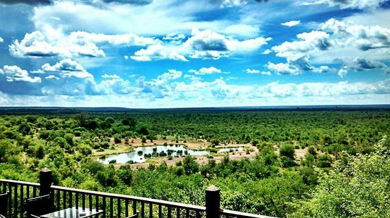 Victoria Falls Safari Lodge: Breakfast/lunch view :)