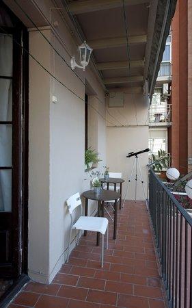 Hostalet Barcelona : terraza