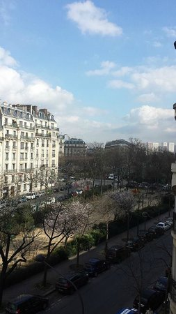 Villa Montparnasse : View for our room