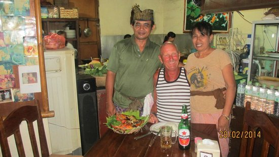 Warung Eny: My friends, working hard to keep Indonesian cooking at top level