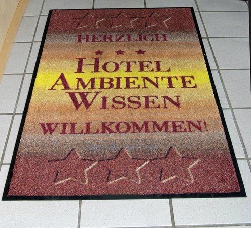 Hotel Ambiente: Eingang
