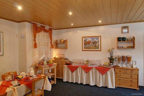 Hotel Ambiente : Frühstücksraum