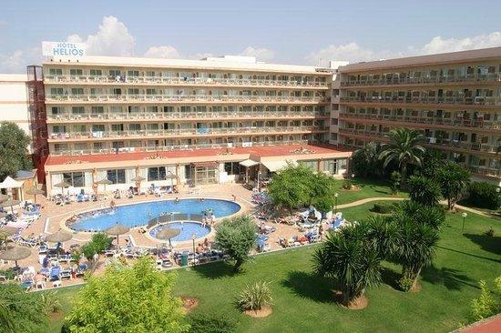 Pano fotograf a de hotel helios mallorca can pastilla for Hotel de diseno mallorca