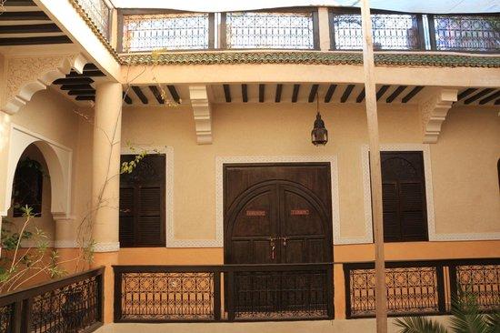 Riad Harmattan : Ingresso camere