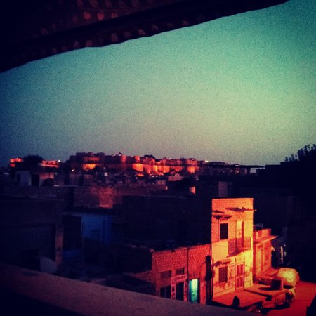 Renuka Hotel : view from the rooftop