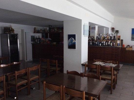 All'Acqua, Schweiz: Interno ristorante.