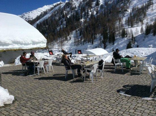 All'Acqua, Schweiz: Terrazza