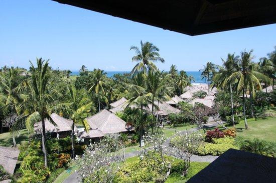 Pan Pacific Nirwana Bali Resort : 部屋からの景色