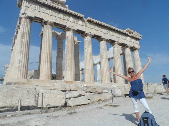 Hotel Solomou Athens: la acropolis