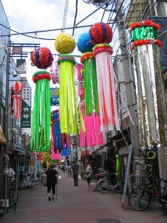 Sunamachi Ginza Shopping Street: 砂銀の七夕まつり