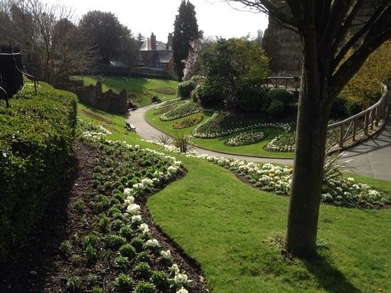 Guildford Castle: Impressive In Early March