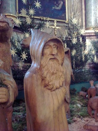 Basilika Weingarten: Nativity scene - an onlooker
