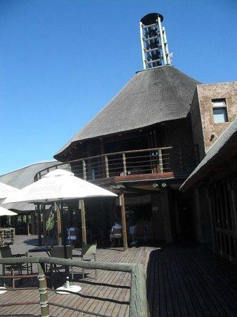 Buffelsdrift Game Lodge Restaurant : Main Building