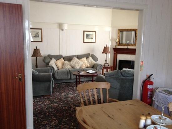 Moulin Inn: the lounge