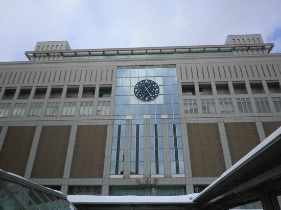 Richmond Hotel Sapporo Ekimae: JR札幌駅南口から南下し朝日新聞社を目当てに東へ左折