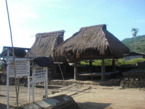 Ende, Индонезия: kompleks Situs Rumah Adat Moni Koanara