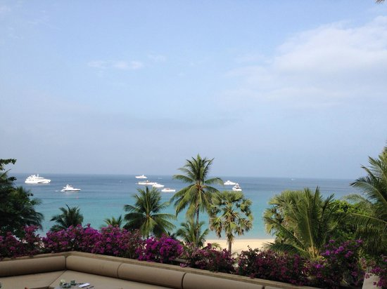 The Surin Phuket: view from restaurant