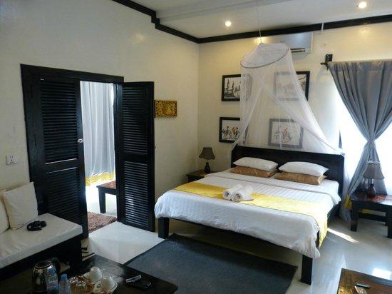 เดอะ ซังชัวรี วิลลา: Sleeping area of our villa