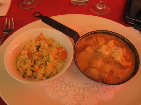 Tropicana : Also the risotto was great...