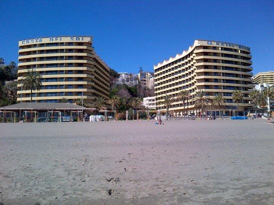 Melia Costa del Sol: Hotel view from beach