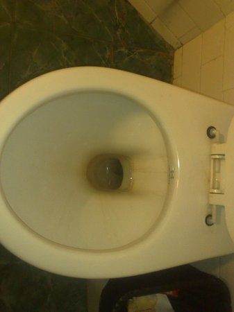Hotel Bangalore International: unclean - dirty wash room!