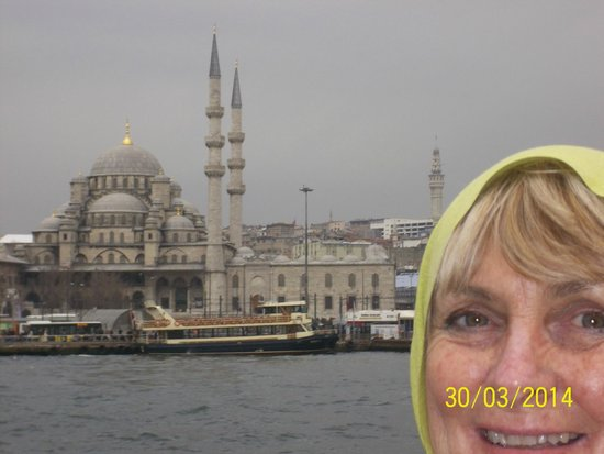 Mystic Hotel: On a boat trip up the Bosphorus