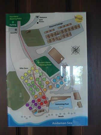 Beyond Resort Krabi: la répartition des chambres