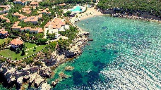 Teos Village: Aerial view.