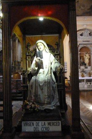 Iglesia de La Merced: Die verehrte Jungfrau