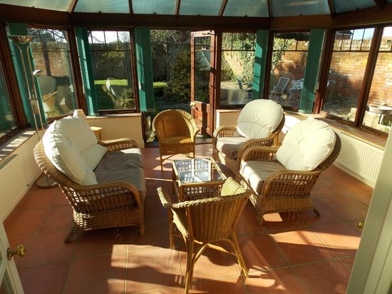 The Old Rectory Country House: The Garden Suite - Conservatory