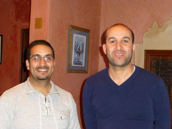 Riad Jonan: The Two Hassans - Manager and Associate