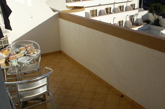 Hotel Apartamento Brisa Sol: balcon hotel brisasol