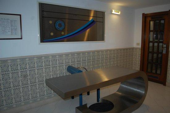 Hotel Apartamento Brisa Sol: corredor hotel brisasol