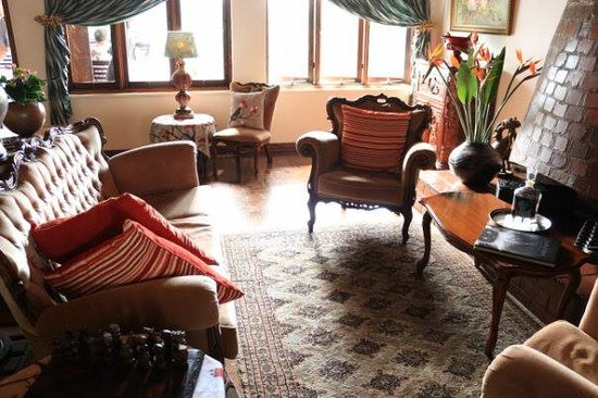 St. Lucia Wetlands Guesthouse: lounge