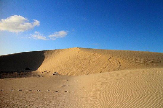 Parque Natural de Corralejo: Dunes and clouds