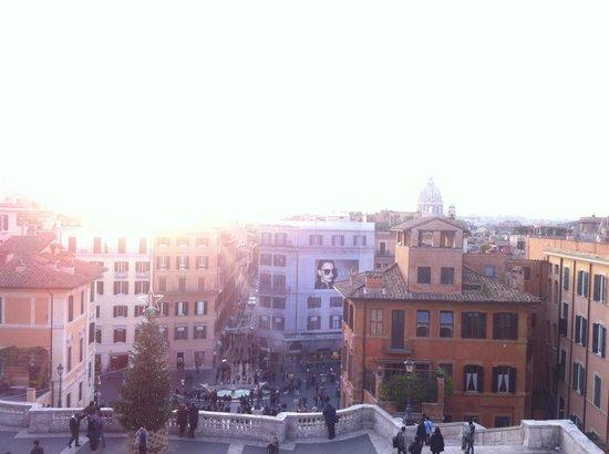 Rex-Tours The Rome Experience: Scalinata della Trinità dei Monti