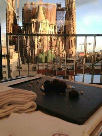 Ayre Hotel Rosellon : Vistas Sagrada Familia