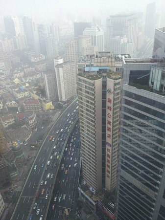 The Longemont Shanghai: View from room at 37th floor