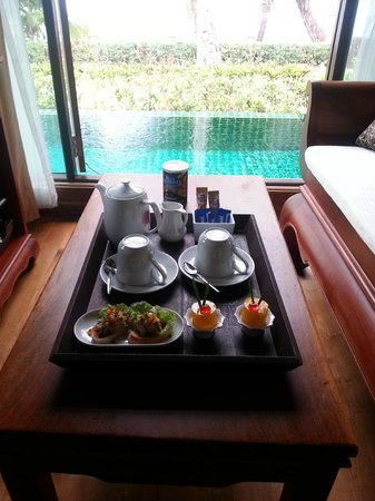 Koh Chang Paradise Resort & Spa : Tea Ceremony