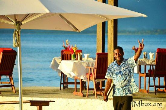 CoCo Beach Resort: Great service (John)