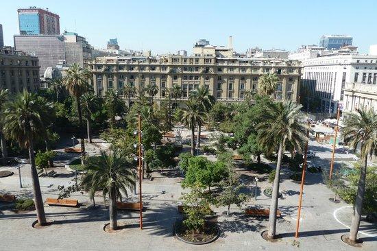Plaza de Armas: Wird hier gearbeitet? Nein, nur abgesperrt