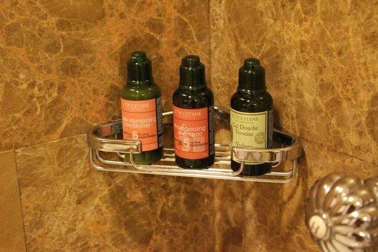 Regent Singapore, A Four Seasons Hotel: アメニティーは、ロクシタン。