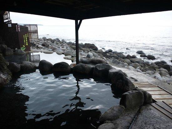 Hokkawa Onsen: 混浴ゾーン