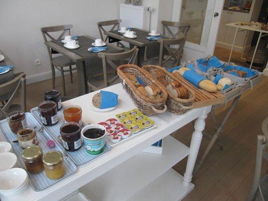 Hotel Apostrophe: ontbijt