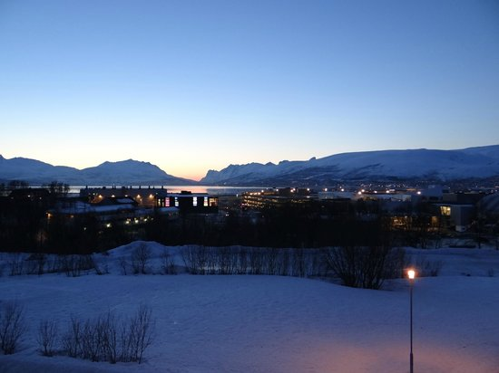 Scandic Tromso: Our lovely view
