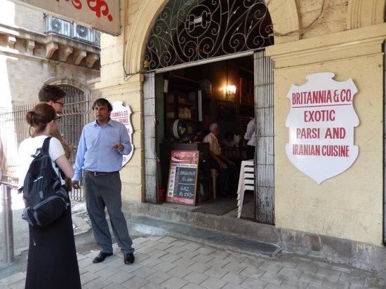 Britannia & Company Restaurant : Outside Britannia